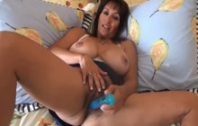 Cum dripping hairy mature pussy