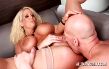 Alura Jenson big ass MILF loves anal