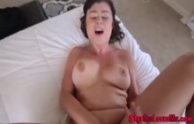 Teen gets pov fucked and sucks