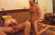 German anal creampie